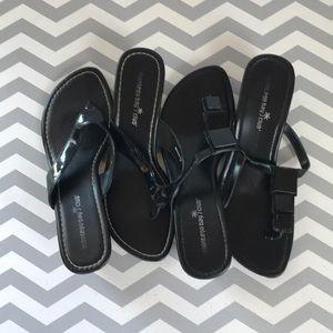 Bundle- Montego Bay Club sandals 8 & 9